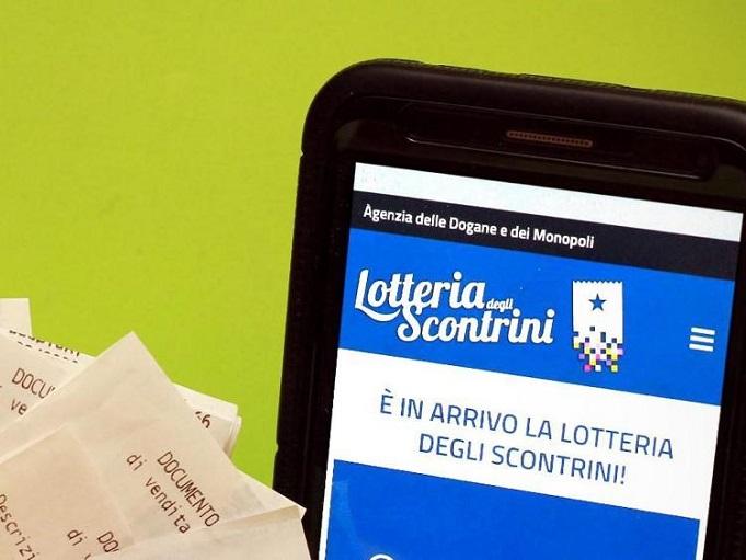 lotteria scontrini partenza 1 2 2021